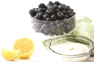 berries lemon plant based diet recipe